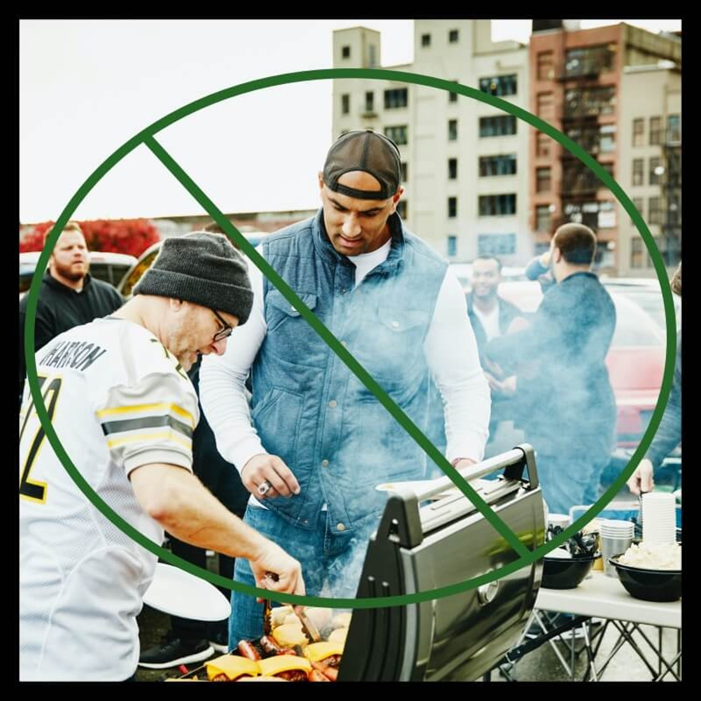 Tailgate parties like this were once staples to the MSU football season. Now, they're banned as efforts increase to slow the spread of the coronavirus.