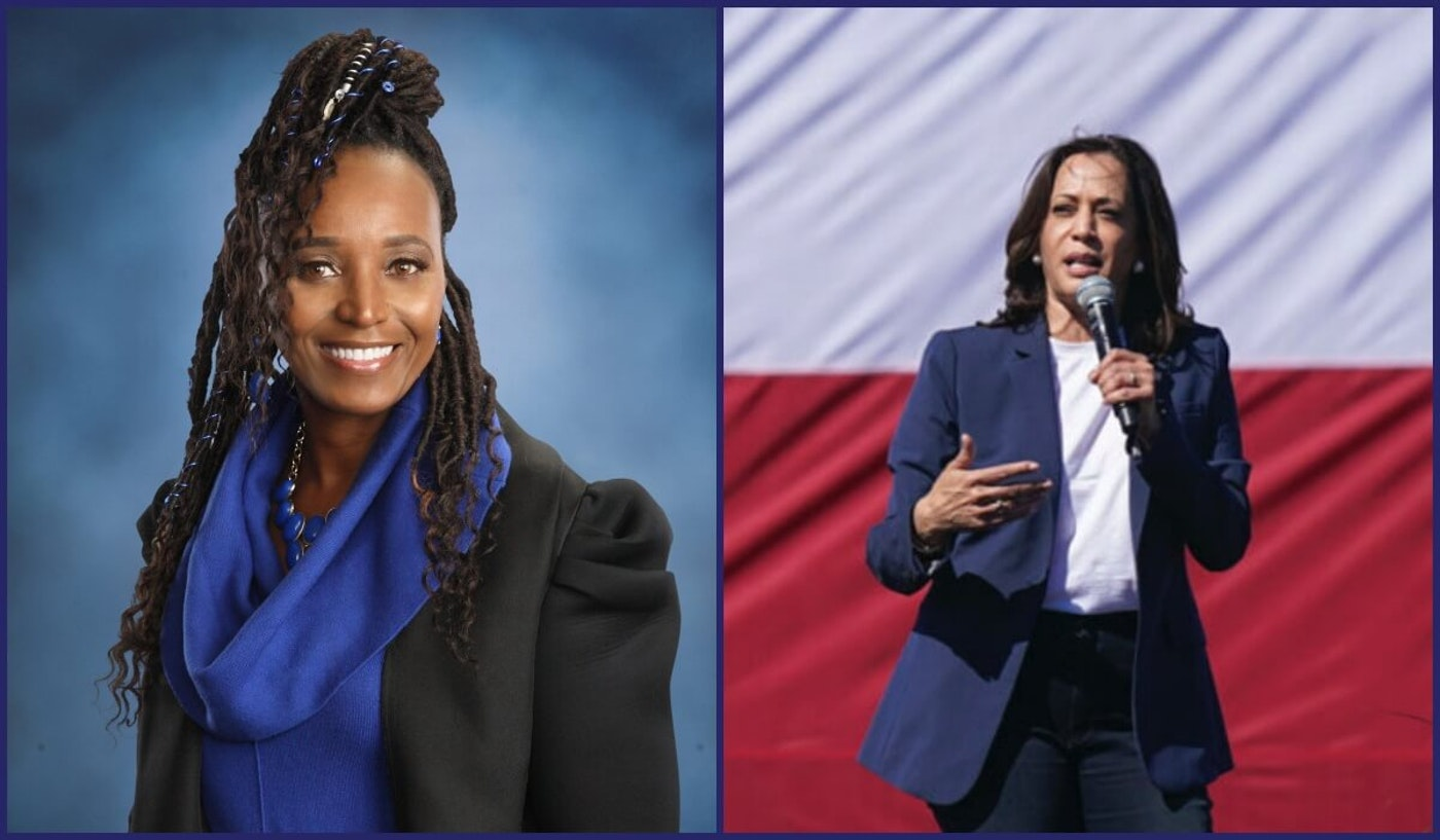 Kalamazoo County Commissioner Stephanie Moore writes about the connection she feels with vice-presidential candidate Sen. Kamala Harris.