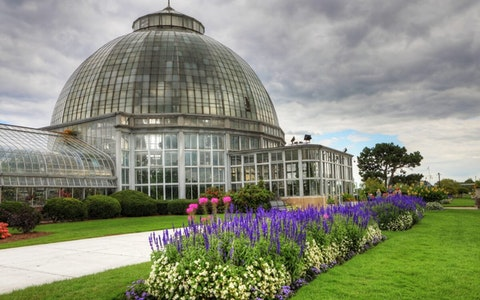 The Anna Scripps Whitcomb Conservatory on Belle Isle, Detroit