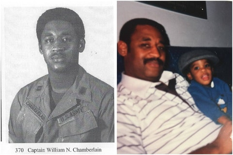 Vietnam War veteran William Chamberlain, Sr. says he received vaccines throughout his military career, and has no reason to distrust them now.