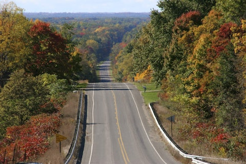 Michigan, Dunningville, Route 89. (Photo by: Jeff Greenberg/Universal Images Group via Getty Images)