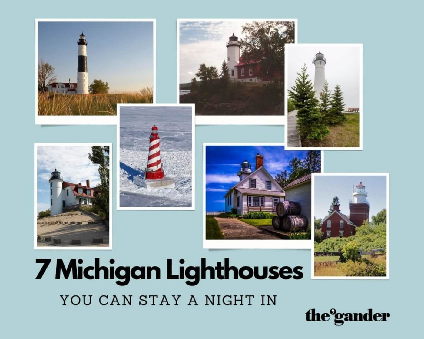 7 Michigan Lighthouses You Can Stay a Night In