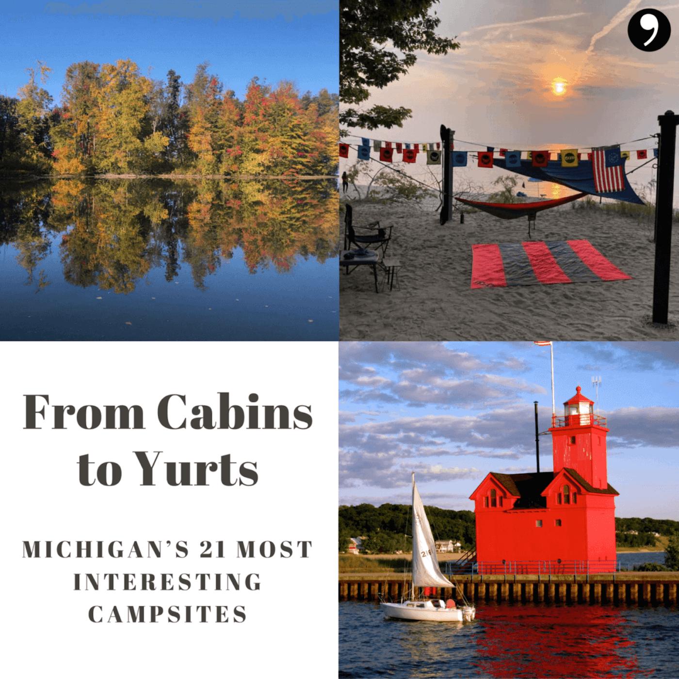 Michigan's 21 Most Interesting Campsites