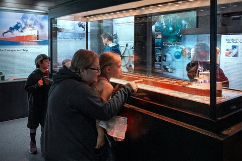 Photo Courtesy of Great Lakes Shipwreck Museum