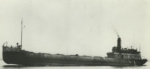 This undated photo provided by the National Oceanic and Atmospheric Administration Thunder Bay National Marine Sanctuary shows the 266-foot steel-hulled steamer Choctaw.
