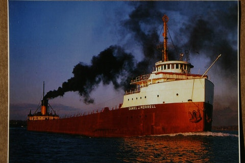 The Daniel J. Morrell sank in a gale on Lake Huron on Nov. 29, 1966.